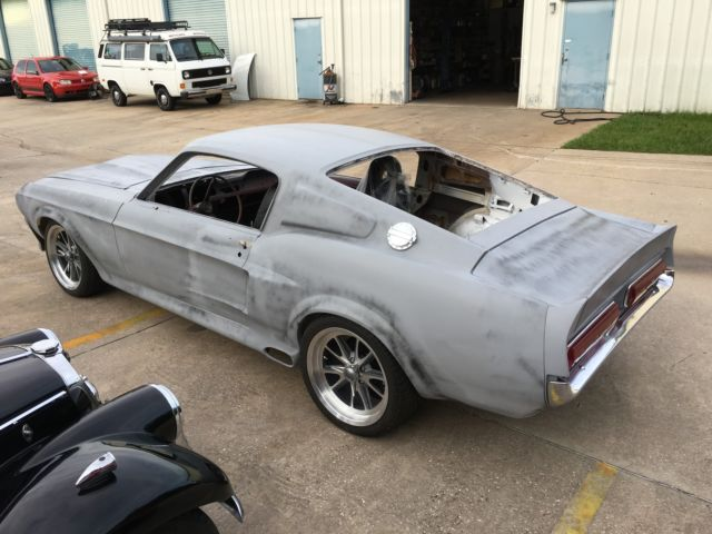 mustang fastback project for sale