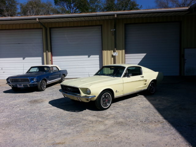 1967 FORD MUSTANG FASTBACK UNRESTORED 1965 1966 1968 1969