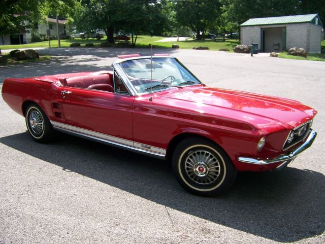 1967 ford mustang gta convertible same owner for 48 years for sale ford mustang gta 1967 for. Black Bedroom Furniture Sets. Home Design Ideas