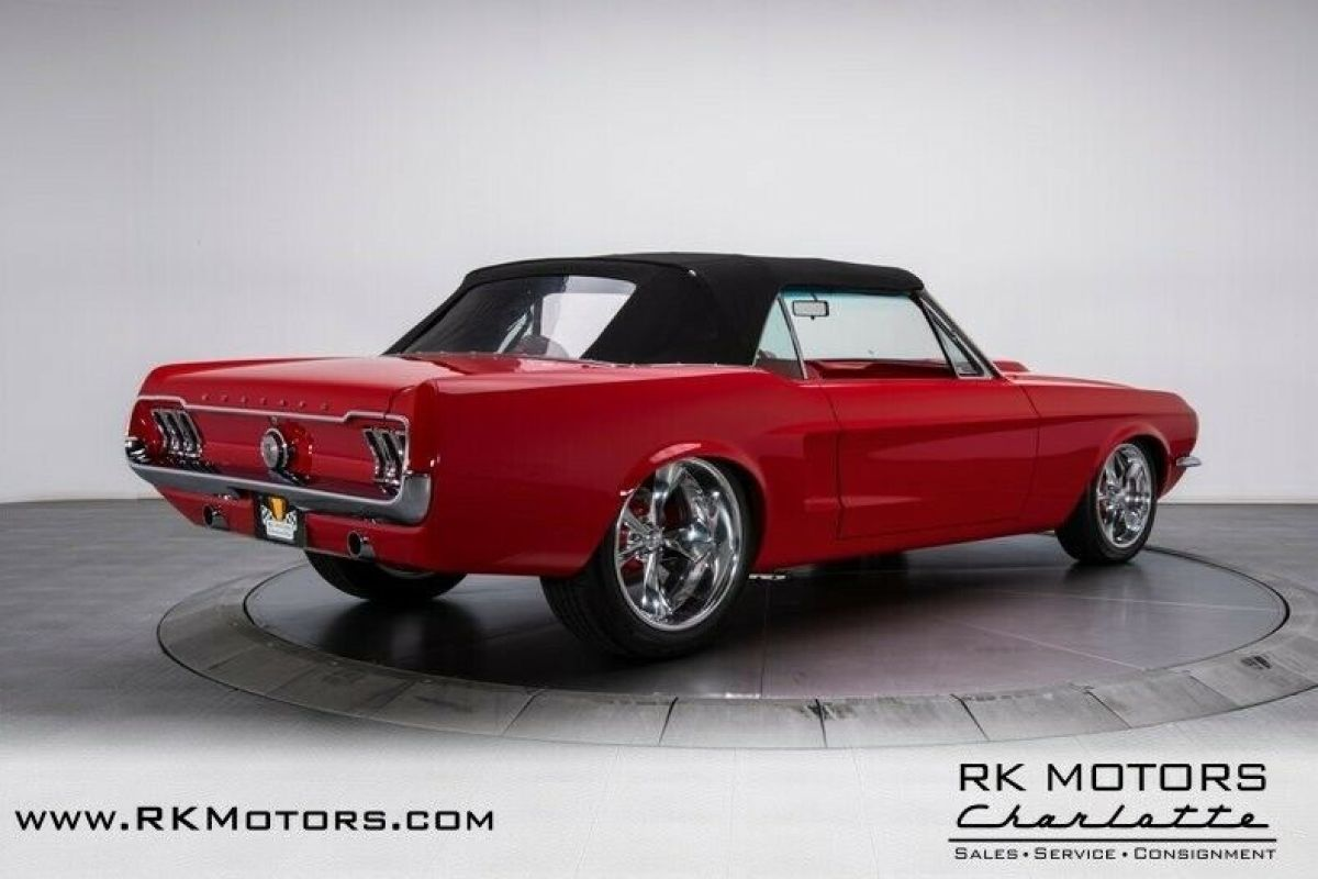 1967 Ford Mustang Convertible Red For Sale