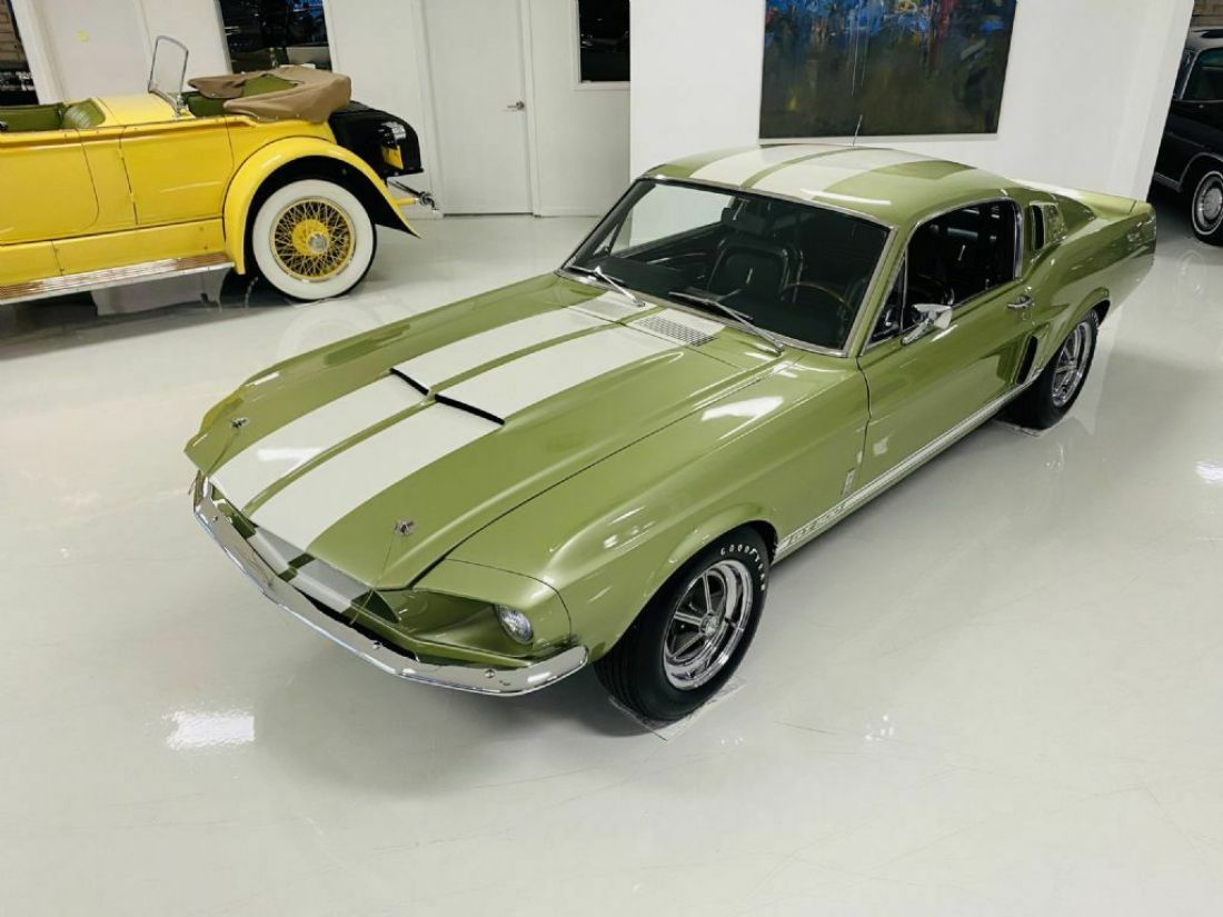 1967 Ford Shelby GT500 44250 Miles Lime Green Fastback for ...