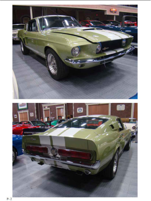 1967 ford shelby gt500 fastback magnificent restoration of for Shelby motors champaign il