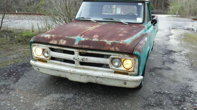 1967 gmc c10 rat rod patina shop truck for sale - Chevrolet