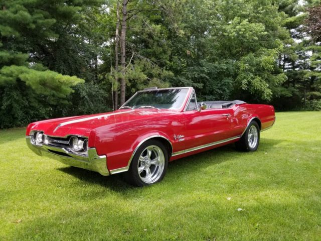 1967 Hurst Oldsmobile Cutlass Convertible Special Order