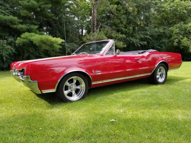 1967 Hurst Oldsmobile Cutlass Convertible Special Order