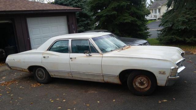 1967 impala 4 door supernatral survivor for sale chevrolet impala 1967 for sale in shakopee. Black Bedroom Furniture Sets. Home Design Ideas