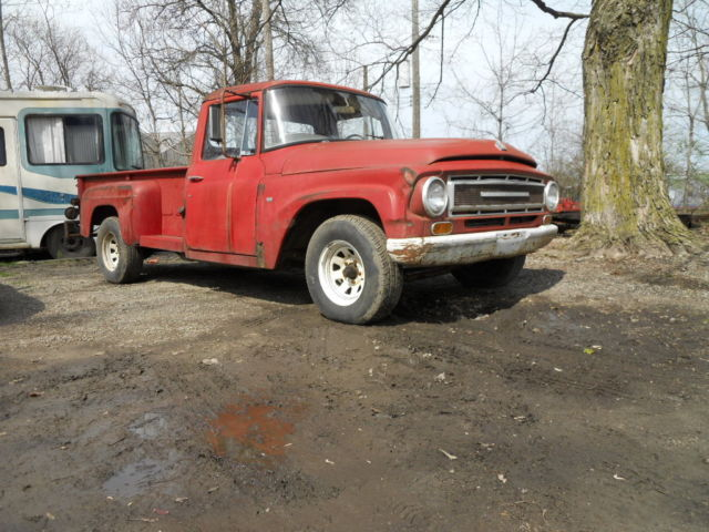 1967 International Pickup Truck! Project! Barnfind! Solid