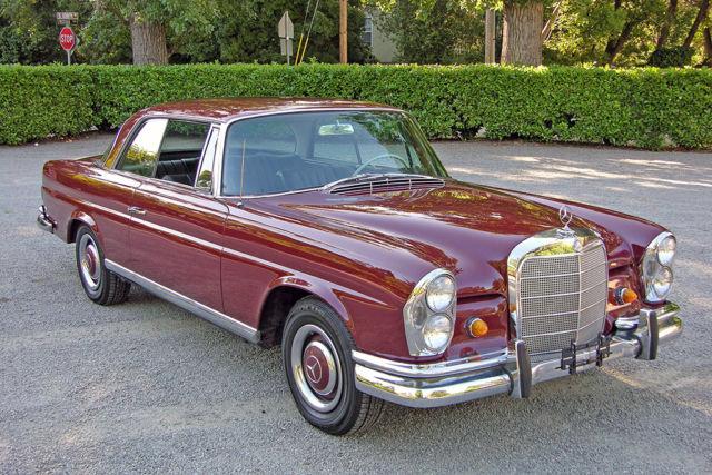 1967 mercedes 250se coupe auto us model very for Mercedes benz burlingame