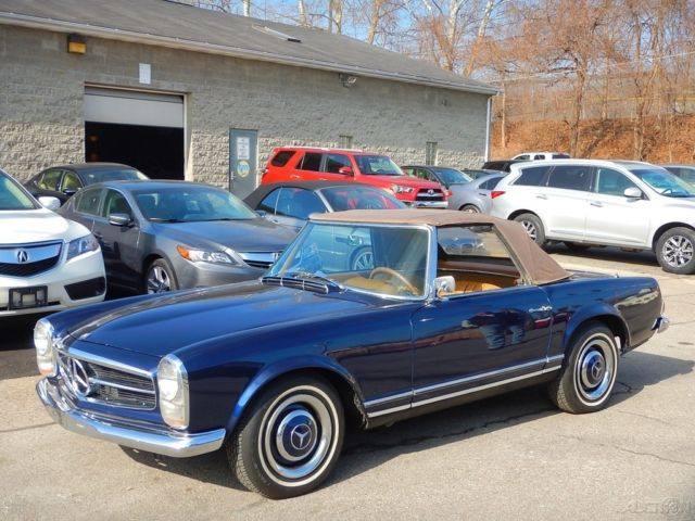 1967 mercedes benz 230sl convertible rare clean for sale for Mercedes benz sl convertible for sale
