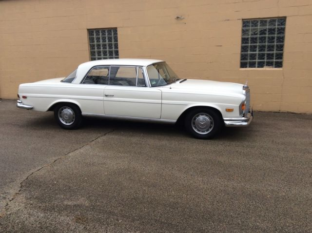 1967 mercedes benz 250se coupe sunroof low miles for Mercedes benz lake forest