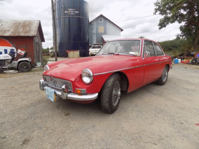 1967 MG MGB GT  Steel dash car RARE NO RESERVE for sale - MG