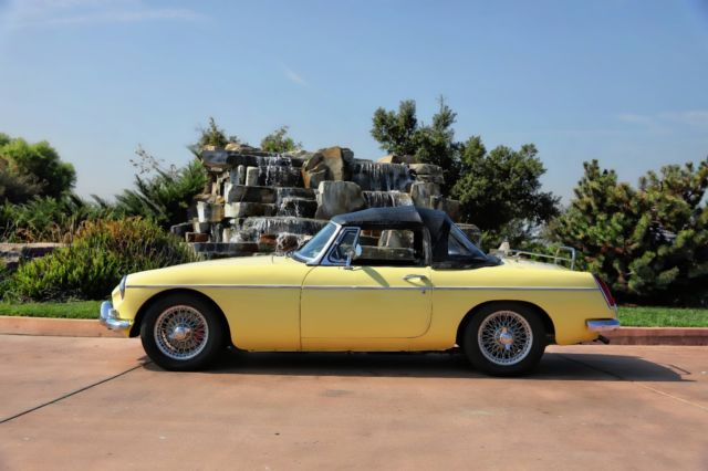 1967 MGB, always garaged and well maintained  Original solid