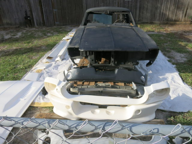 1967 Ford Mustang Fastback Project Car For Sale: 1967 Mustang Fastback 7T02C51862 Project Car Eleanor