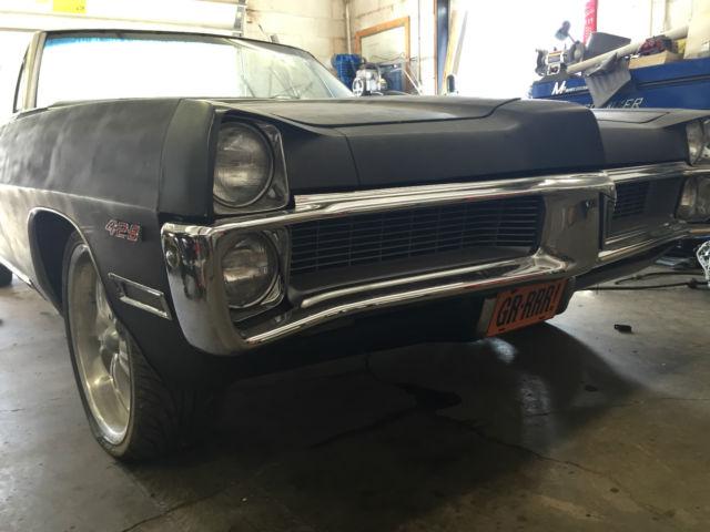 1967 Pontiac Gto 400 Project Car For Sale: 1967 Pontiac Bonneville Convertible 4 Speed Rare 2+2 400