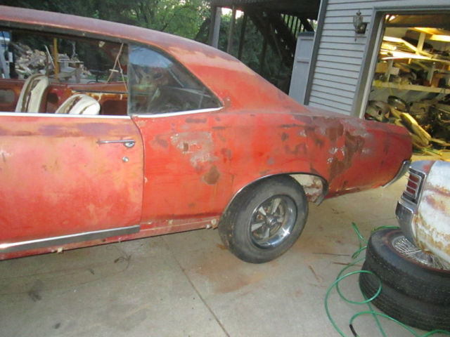 1967 Pontiac Gto 400 Project Car For Sale: 1967 Pontiac Gto Clean Project For Sale