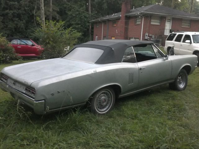 1967 Pontiac LeMans Convertible perfect to restore to GTO specs VERY