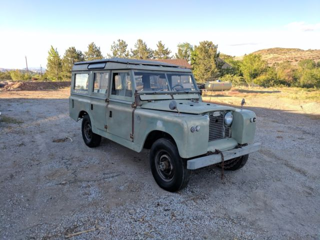 1967 Series 2a Land Rover Rare 6 Cylinder 109 For Sale