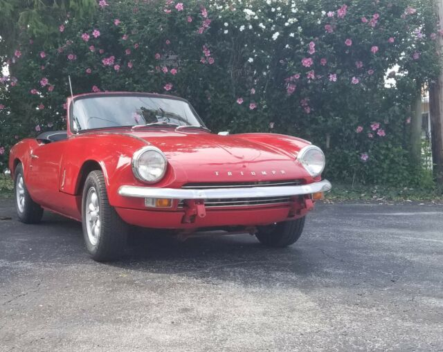 1967 Triumph Spitfire Mkiii And 1969 Spitfire Parts Car For Sale