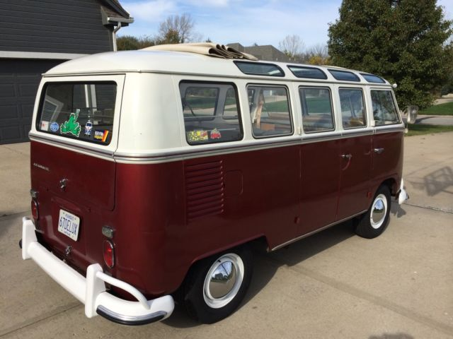 1967 volkswagen deluxe sunroof bus 21 window vw for sale for 1967 21 window vw bus for sale