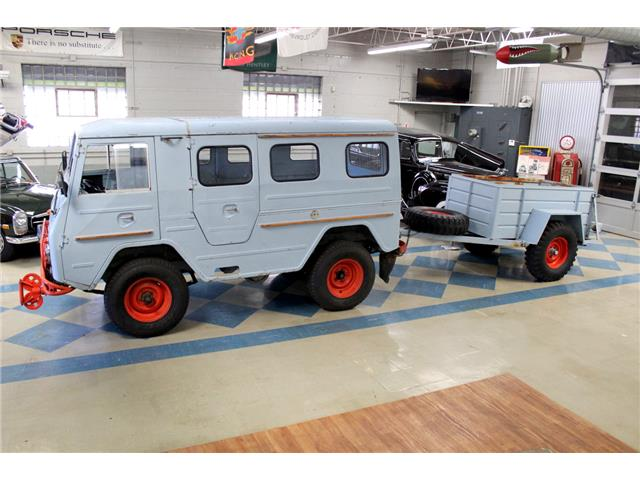 1967 Volvo L3314 HT Laplander Rare Military Vehicle UniMog