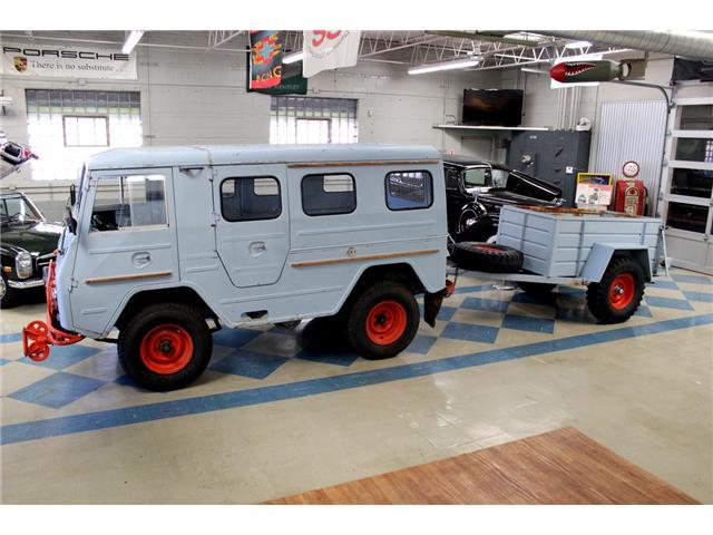 1967 Volvo L3314 HT Laplander Rare Military Vehicle UniMog 4wd 4x4