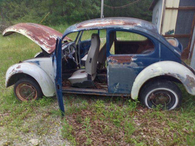 1967 vw beetle restoration project lots of parts used for sale volkswagen beetle classic. Black Bedroom Furniture Sets. Home Design Ideas