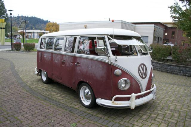 1967 Vw Bus 13 Window Deluxe Kw Barndoor 15 Window 21 Window 23