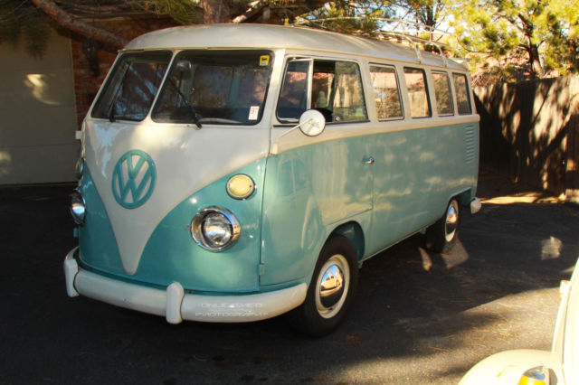 1967 vw bus beautiful drive it today 15 window tasefully restored no reserve for sale. Black Bedroom Furniture Sets. Home Design Ideas
