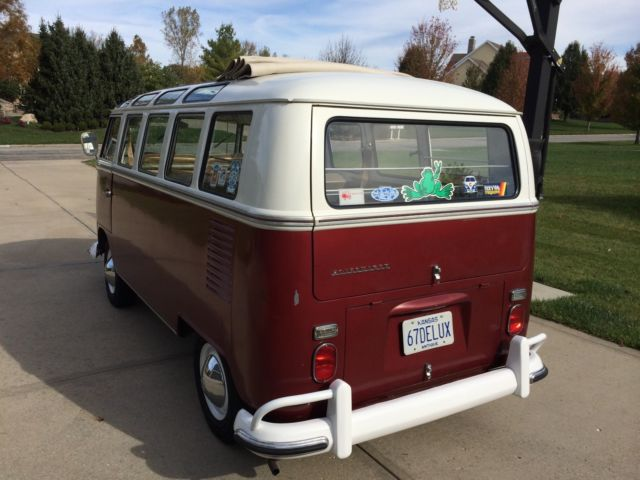 1967 vw volkswagen deluxe 21 window bus for sale for 1967 21 window vw bus for sale