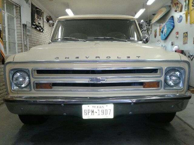 1968 1967 chevy c20 panel truck wagon for sale chevrolet other 1968 for sale in el paso texas. Black Bedroom Furniture Sets. Home Design Ideas
