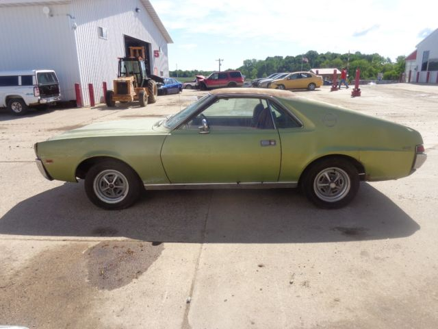 1968 american motors amx 343 ci 4 bbl california car for American classic motors for sale
