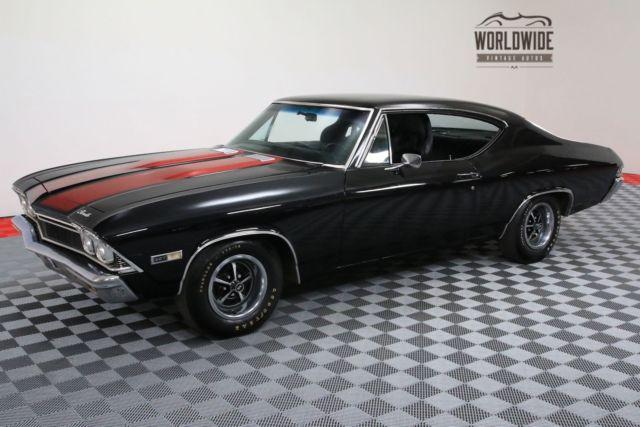 1968 black high performance v8 auto for sale chevrolet chevelle high performance v8 auto 1968. Black Bedroom Furniture Sets. Home Design Ideas