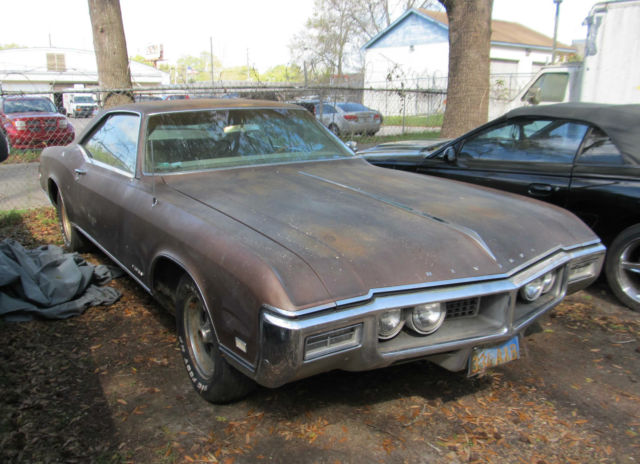 1968 buick riviera one owner very low miles project car for sale buick riviera 1968 for. Black Bedroom Furniture Sets. Home Design Ideas