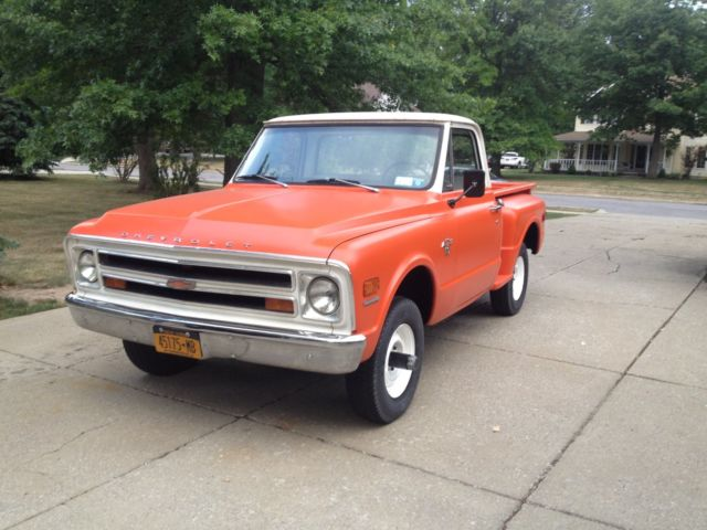 1968 C10 4x4 Shortbed Stepside For Sale Chevrolet C 10