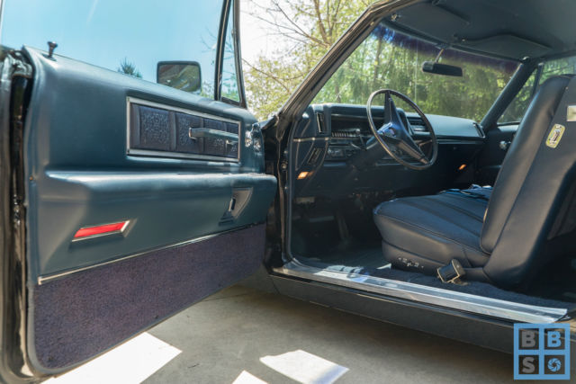 1968 cadillac calais coupe tuxedo black straight low mile for Motor mile auto sales
