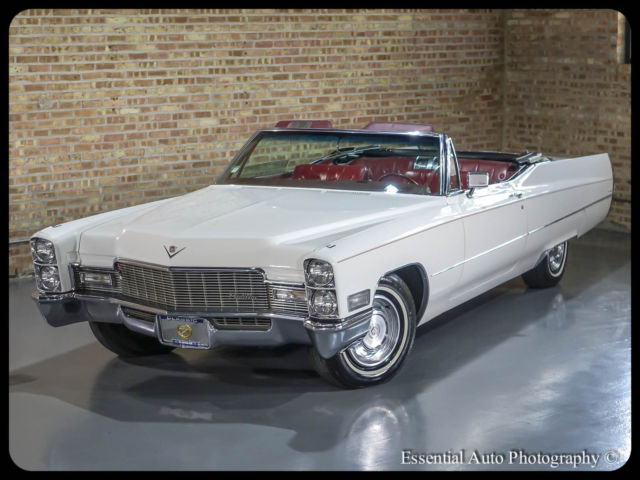 1968 cadillac deville convertible white red stunning for. Black Bedroom Furniture Sets. Home Design Ideas