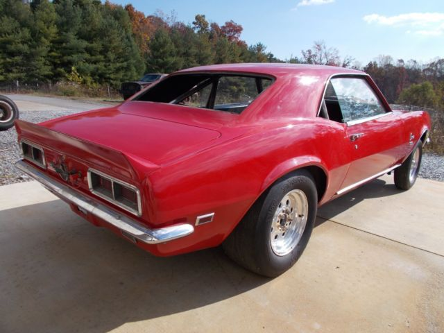 1968 camaro 396 rs ss project car nice body ready for your drivetrain 1969 z28 for sale. Black Bedroom Furniture Sets. Home Design Ideas