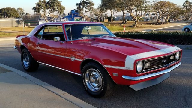 1968 camaro ss muscle car tribute restomod fully restored ca rust free car 69 for sale. Black Bedroom Furniture Sets. Home Design Ideas