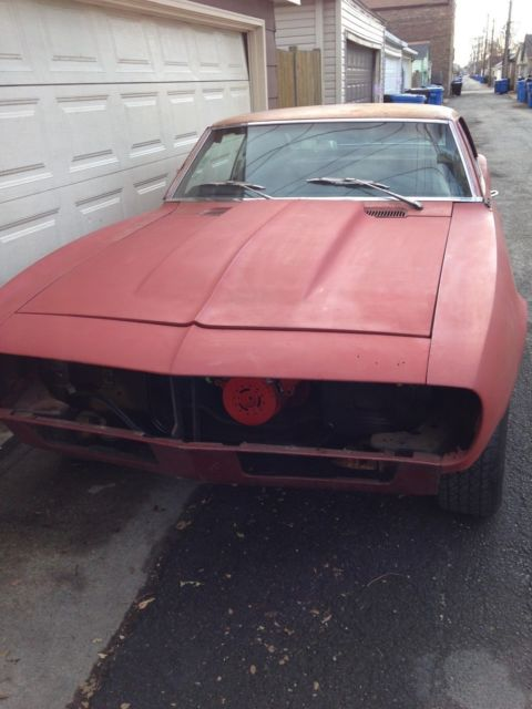 1968 Camaro Very Solid 12 Bolt For Sale Chevrolet Camaro 1968 For Sale In Chicago Illinois