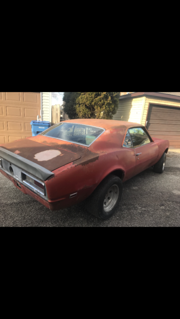 1968 Camaro Very Solid 12 Bolt For Sale Chevrolet