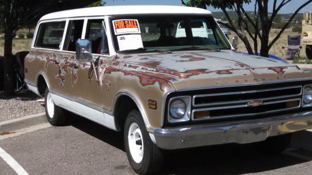 1968 Chevrolet C10 Suburban 3 Door 2wd 396 Bb For Sale