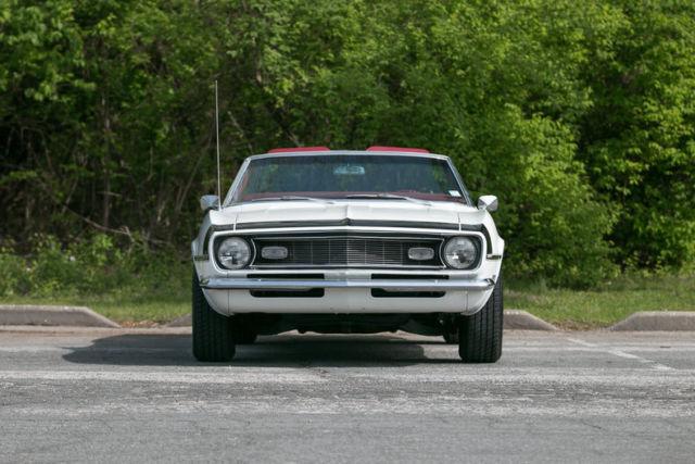 1968 Chevrolet Camaro Convertible Factory Air Conditioning