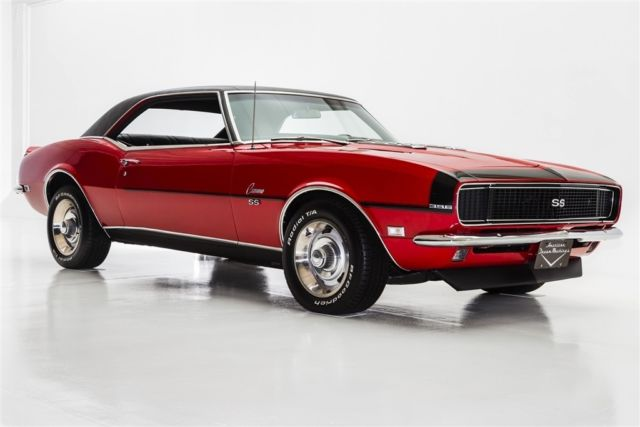 1968 Chevrolet Camaro True Rs Ss S Match 396 Manual For