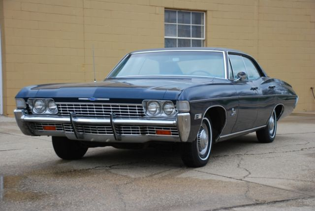 1968 Chevrolet Impala 4 Door Hardtop 39 000 Original Miles