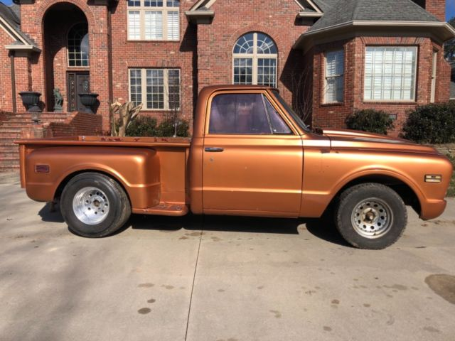 1968 Chevrolet Truck SHORT BED Step Side C10 SWB Muscle ...