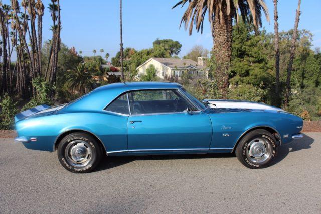 1968 chevy camaro rs ss big block 396 lemans blue cali car 1967 1969 video for sale chevrolet. Black Bedroom Furniture Sets. Home Design Ideas