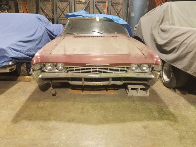 1968 Chevy Impalla Maintenance Restoration Of Old Vintage: 1968 Chevy Impala Convertible With 307 Engine Vehicle