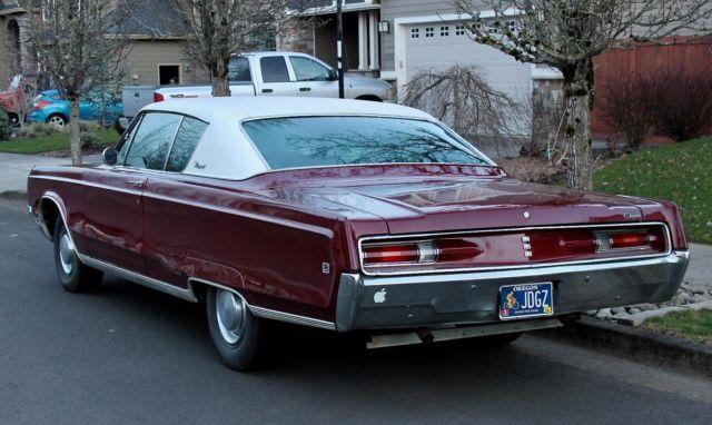 1968 chrysler newport 2 door hardtop 81k miles new. Black Bedroom Furniture Sets. Home Design Ideas