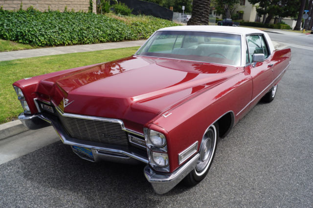 1968 coupe deville 472 375hp v8 with 50k original miles in superb condition for sale cadillac. Black Bedroom Furniture Sets. Home Design Ideas