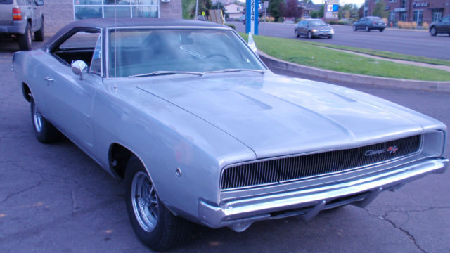 1968 dodge charger r t 440 hemi 4 speed dana 60 for sale dodge charger 1968 for sale in woods. Black Bedroom Furniture Sets. Home Design Ideas